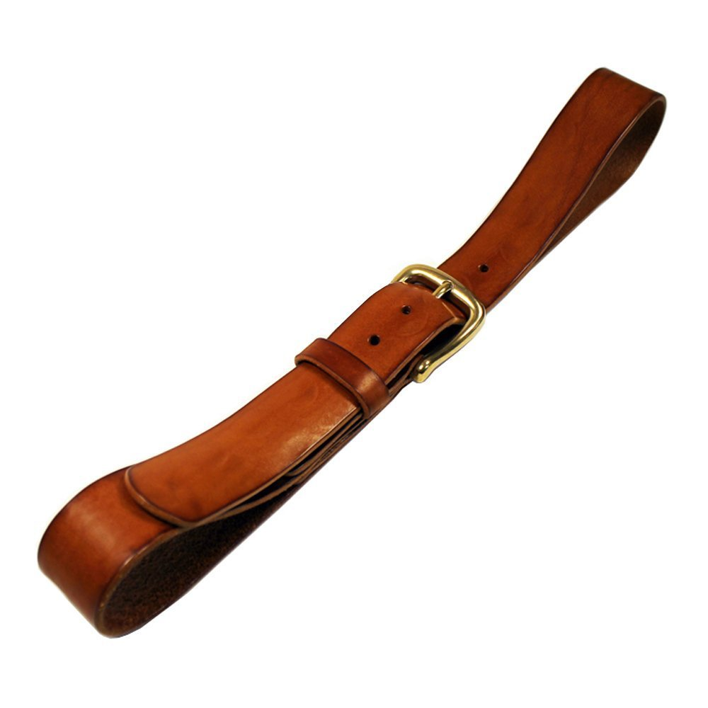 NATURAL BULL LEATHER BELT