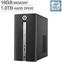 2018 Newest HP Pavilion 570 High Performance Business Desktop - Intel Quad-Core i5-7400, 16GB DDR4, 1TB HDD, SuperDVD Burner, WLAN, Bluetooth, HDMI, USB 3.0, Keyboard & Mouse, Windows 10