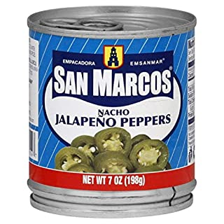 San Marcos Nachos Jalapeno, 7 Ounce (Pack of 24)