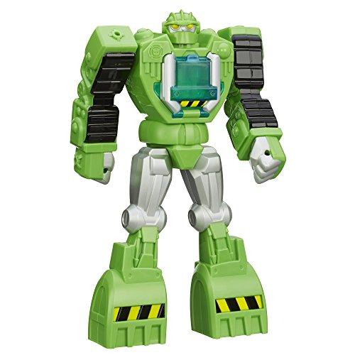 Playskool Transformers Rescue Bots Boulder the Construction-Bot Figure ()