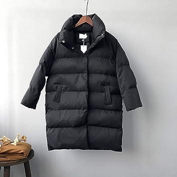 XWH Versión Coreana de Abrigo Suelto de algodón de Moda, Abrigo Largo de Invierno Abrigo Largo, Servicio de Pan para Mujeres: Amazon.es: Deportes y aire ...