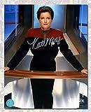 Autograph Authentic XSCI10202B Kate Mulgrew Autographed Captain Janeway Star Trek Voyager 8 x 10 in. Photo