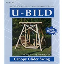 U-Bild 818 Canopy Glider Swing Project Plan