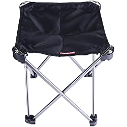 TTnight Folding Chair,Camping Chair,Portable Folding Chair Mini Aluminum Alloy Outdoor Fishing Camping Chair