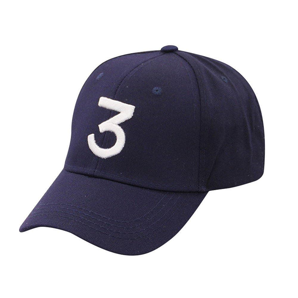 DEELIN Vintage Damen Herren Verstellbar Nummer 3 Twill Baumwolle Baseball  Gap Dad Hat Sun Kappen  Amazon.de  Bekleidung 083660f049ad