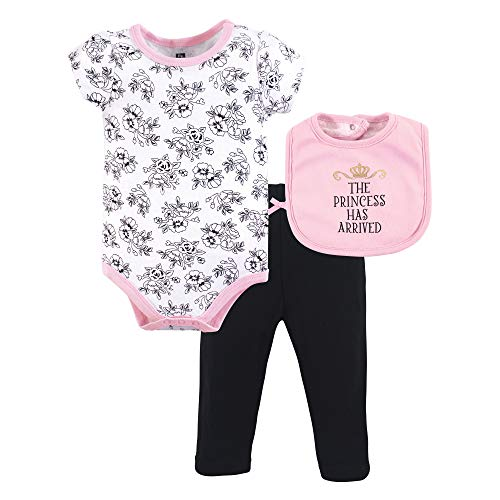 (Hudson Baby Baby Multi Piece Clothing Set, Princess 3, 0-3 Months (3M))
