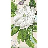 Caspari Entertaining with Garden Images Paper Guest Towels, Parchment, 15-Pack