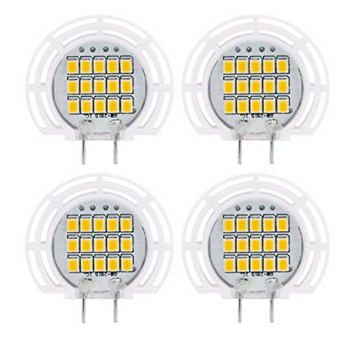 Promotion! Landlite Dimmable LED G8 bulbs ( 2017 Version ) G8-2018 2.3W warmwhite 4PK for puck light , Ceramic Sunflower (2.3Wx4PK) … Ceramic Sunflowers