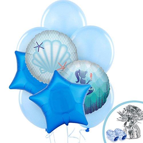 BirthdayExpress Mermaids Under The Sea Party Supplies - Balloon -