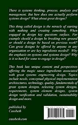 Amazon Com Systems Engineering Design Renaissance 9780983253075 Sobkiw Walter Books