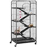 YAHEETECH 52-inch 6 Level Metal Critter Cage with 3