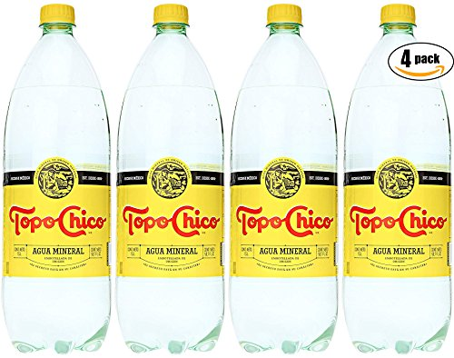 Topo Chico Mineral Water, 50.7 Oz Plastic Bottle (Pack of 4, Total of 202.8 ()