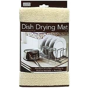 Amazon Com Kitchen Basics 429100 Microfiber Dish Drying