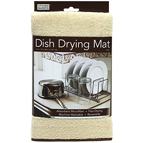 Kitchen Basics Utensile Microfiber Dish Drying Mat