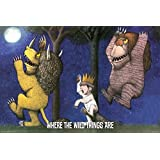 Where The Wild Things Are - Under The Moon Poster Poster Print, 36x24 by Generic