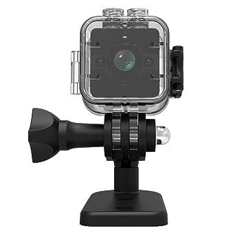 SMARTrich SQ12 - Mini cámara de visión nocturna HD 1080P con lente DVR deportiva y videocámara