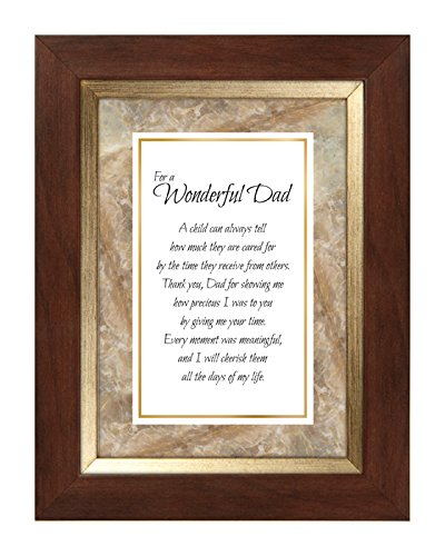 US Gifts Dad -7'' X 9'' Framed Tabletop