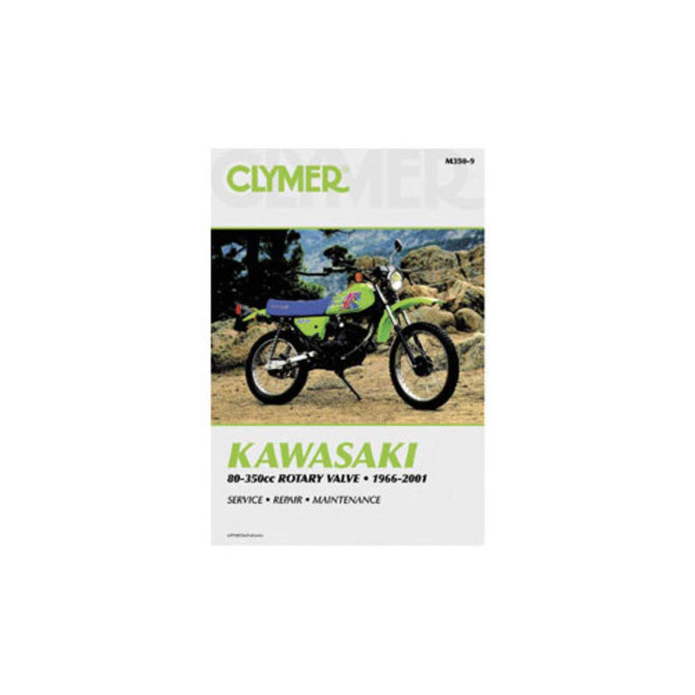 Amazon.com: Clymer Repair Manual for Kawasaki KX80 KX85 KX100 89-03:  Automotive