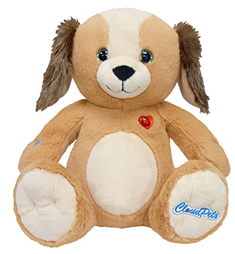 CloudPets Talking Dog - The Huggable Pet to Keep in Touch Through the Cloud, Recordable Stuffed Animal by CloudPets