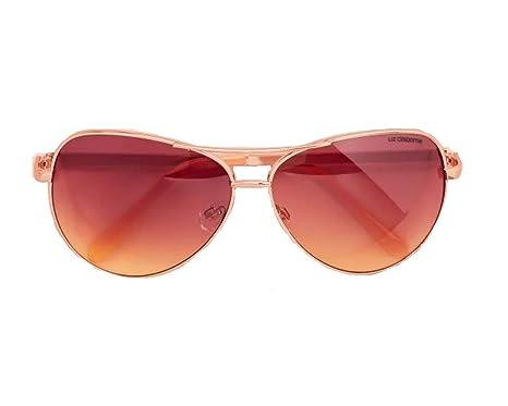 3c4954dbd2 Image Unavailable. Image not available for. Color  Liz  Claiborne quot Sloane quot  Rose Gold Sunglasses