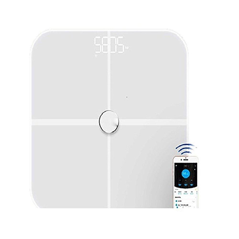 Fat Scales,PowerDoF Digital Body Fat Analyzer Bluetooth Scale Sync Weight Data