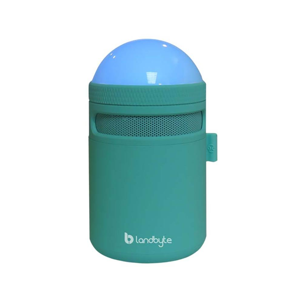 LANDBYTE LED Amp Bluetooth Wireless Speaker LB-310 BLUE All Smart Phones And Computers Compatible Mini Portable Outdoor Waterproof Shockproof