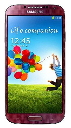Samsung Galaxy S4 I337 Unlocked GSM (4G LTE on AT&T) Smartphone w/ 13MP Camera - Red (Renewed) (Samsung I337)