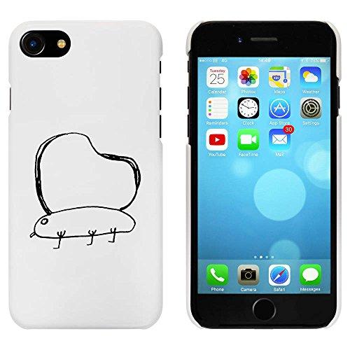 Blanc 'Mariposa llana' étui / housse pour iPhone 7 (MC00076094)