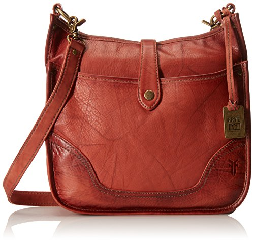 FRYE Campus Crossbody, Burnt Red, One Size