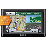 Garmin nüvi 55LM GPS Navigators System with Spoken Turn-By-Turn Directions, Preloaded Maps and Speed Limit Displays (Lower 49 U.S. States) (Certified Refurbished)