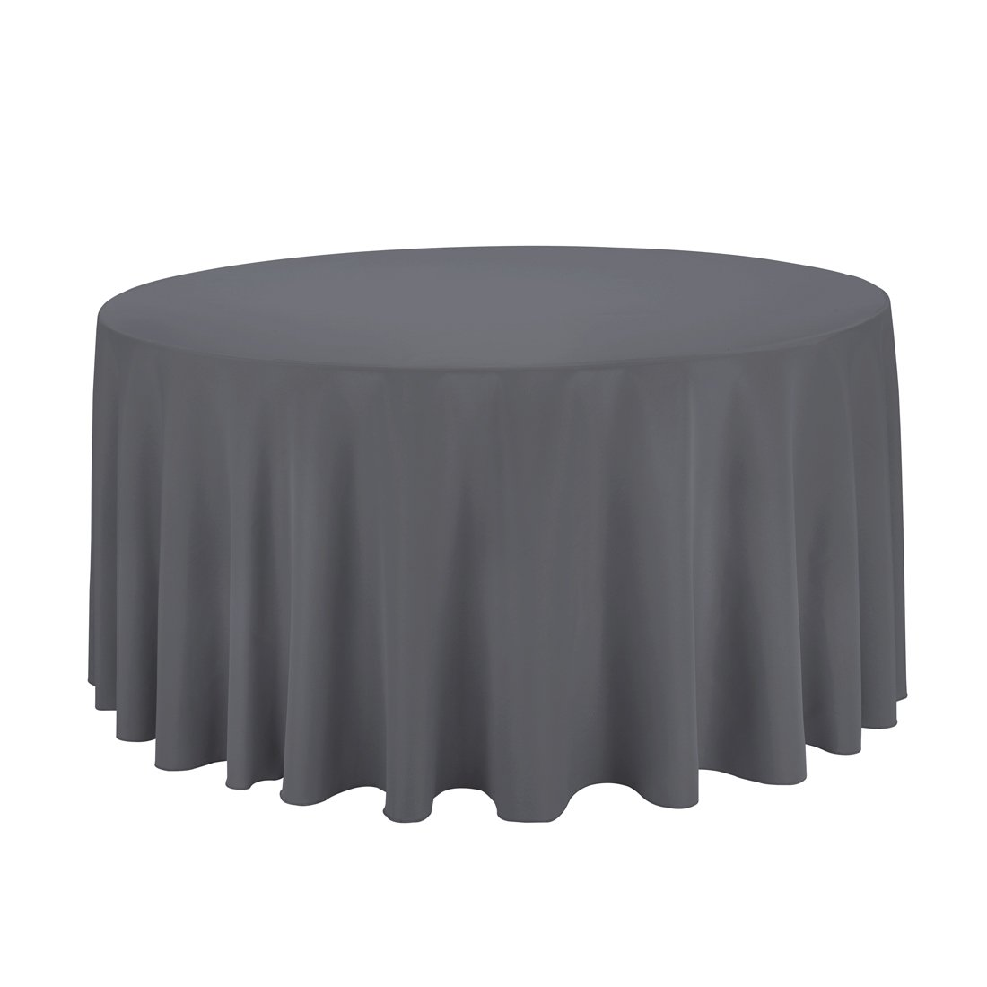 Amazon LinenTablecloth Round Polyester Tablecloth 120 Inch