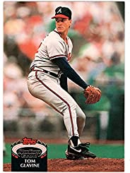 Tom Glavine - Atlanta Braves (Baseball Card) 1992 Topps Stadium Club # 395 Mint