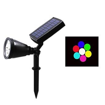 Lámpara De Césped, Cambie El Color Del Foco De Exterior Para El ...