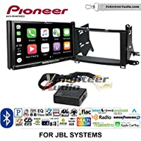 Volunteer Audio Pioneer AVH-W4400NEX Double Din Radio Install Kit with Wireless Apple CarPlay, Android Auto, Bluetooth Fits 2009-2015 Toyota Venza with Amplified System