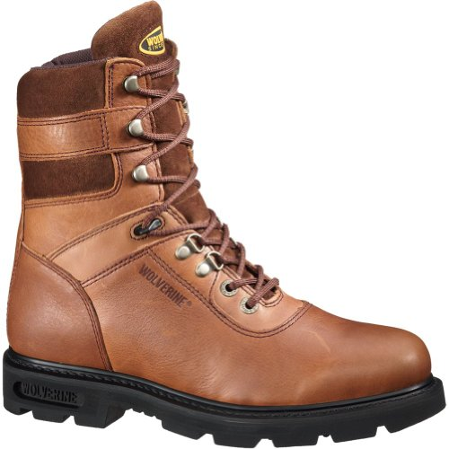 Wolverine Men's Good-Year Welt Brown Boot 8.5 Men US