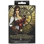 Q-Workshop Steampunk Clockwork Caramel & White Dice Set (7 Piece) 7