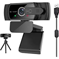 Pro Stream Webcam 1080P HD Video Auto Focus Camera for Streaming, Game Recording, Conferencing, USB Web Camera with Mic…