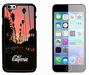 California Funny Hard Plastic and Aluminum Back Case FOR Apple iPhone 6 6G 4.7
