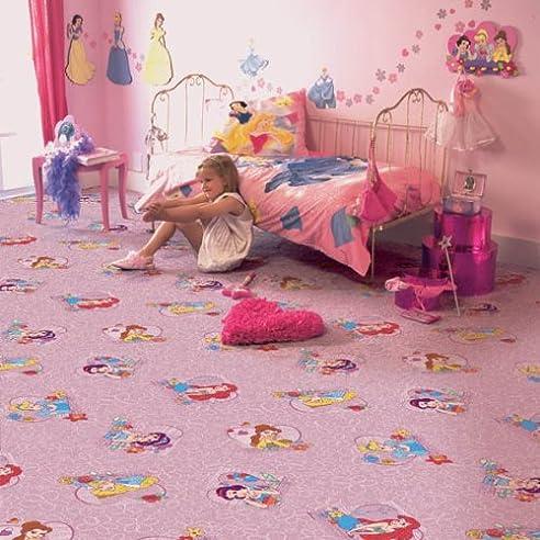Kinder Teppichboden Disney Prinzessin Rosa Auslegware Kinder