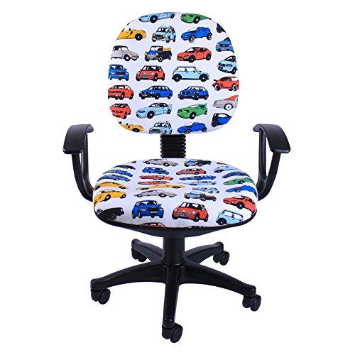 Emall Life 360 Ergonomic Adjustable Swivel Chair Mid-back Fa