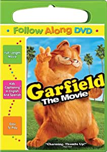 Amazon Com Garfield The Movie Follow Along Edition Breckin Meyer Jennifer Love Hewitt Stephen Tobolowsky Bill Murray Evan Arnold Mark Christopher Lawrence Vanessa Christelle Daamen J Krall Rufus Gifford Randee Reicher Ryan
