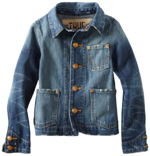True Religion Little Boys' Dino Collar Jacket