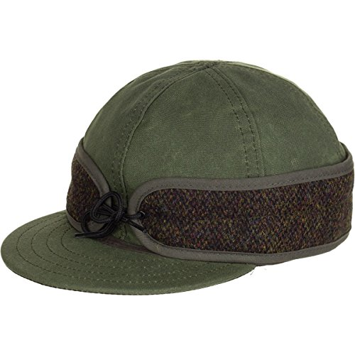85311b4e9b5b0 Stormy Kromer  Waxed Cotton Cap  with Harris Tweed for sale Delivered  anywhere in USA
