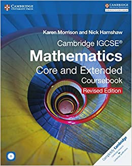 Cambridge igcse mathematics core and extended coursebook with cd rom cambridge igcse mathematics core and extended coursebook with cd rom cambridge international igcse karen morrison nick hamshaw 9781316605639 fandeluxe Choice Image