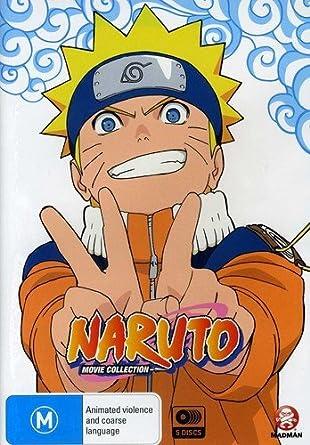 Amazon.com: Naruto Movie Collection: Junko Takeuchi, Chie ...