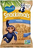 Barbara's Snackimals Cookies, Vanilla, 2.125 Ounce (Pack of 18) by BARBARA'S