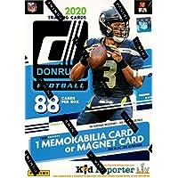 2020 Panini Donruss NFL Football BLASTER box (88 cards/bx) photo