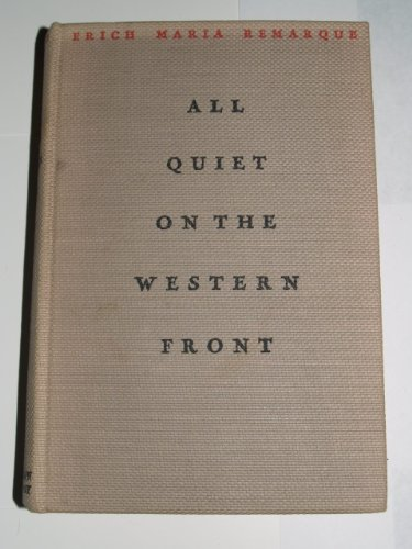 All Quiet On The Western Frot