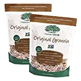Chappaqua Crunch Simply Granola, Original Flavor – Custom Rolled Oats with Roasted Almonds, Raisins, and Sunflower Seeds – Slightly Sweet, Heart Healthy, 100% Natural – 13oz Pouch (Pack of 2) For Sale
