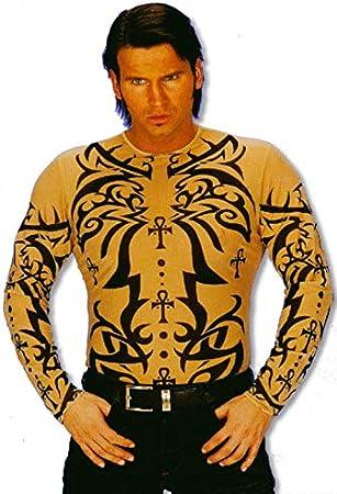 Tatuaje tribal de la camisa-: Amazon.es: Juguetes y juegos